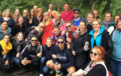 Team-Building und Sommer Party